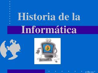 Historia de la Inform�tica