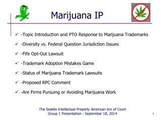 Marijuana IP
