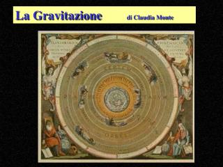 La Gravitazione di Claudia Monte