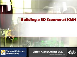 Building a 3D Scanner at KMH