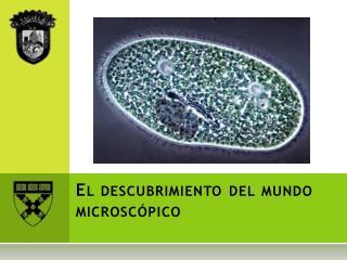 El descubrimiento del mundo microscópico