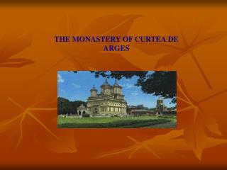 Arges Monastery Brochure