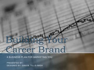 Building Your Career Brand