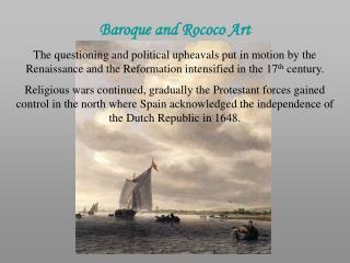 Baroque and Rococo Art