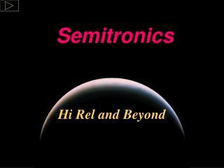 Hi Rel and Beyond