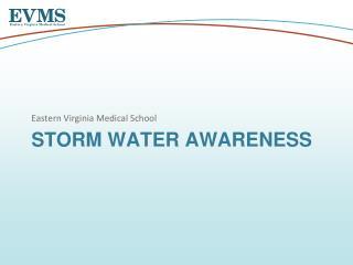 Storm Water Awareness