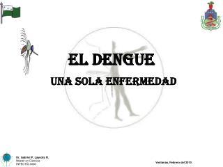 El Dengue una sola enfermedad