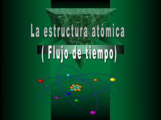 La estructura atómica  ( Flujo de tiempo)
