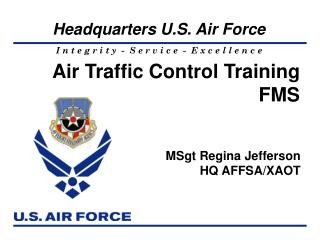 Air Traffic Control Training FMS