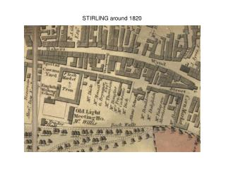 STIRLING around 1820