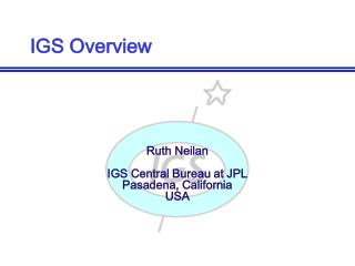 IGS Overview