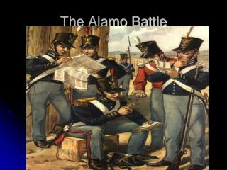 The Alamo Battle