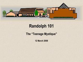 Randolph 101