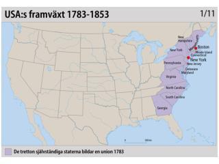 17 USAsframväxt 1783-1853 kopia