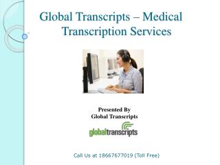 Global Transcripts - Medical Transcription Services