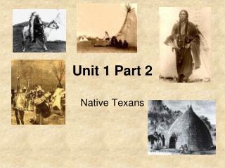 Unit 1 Part 2