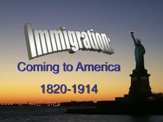 Immigration: