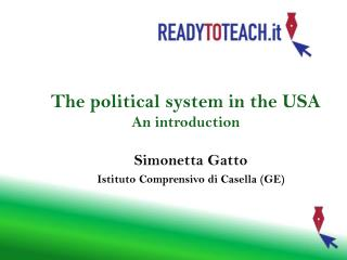 The  political  system in the USA An  introduction