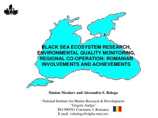 The Black Sea and its coastal states