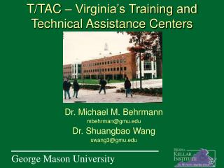 T/TAC – Virginia's Training and Technical Assistance Centers