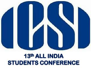 13 th  ALL INDIA  STUDENTS CONFERENCE