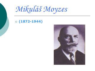 Mikuláš Moyzes