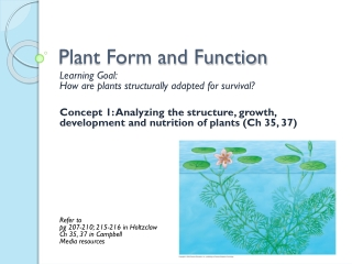 Plants Ch 35