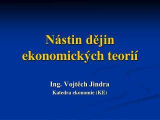 Nástin dějin ekonomických teorií