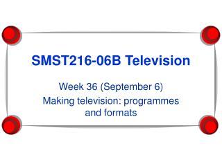 SMST216-06B Television