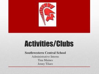 Activities/Clubs