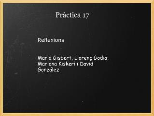 Pràctica 17