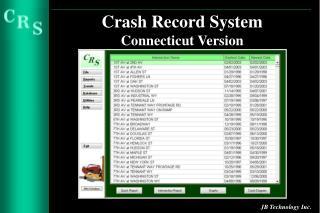 Crash Record System Connecticut Version