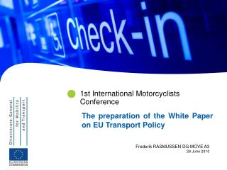 1st International Motorcyclists Conference
