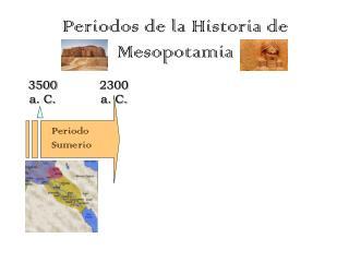 Periodos de la Historia de Mesopotamia