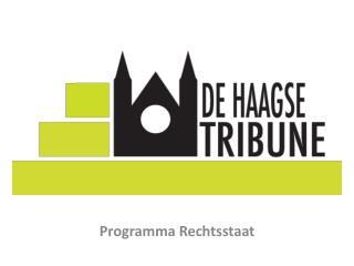 Programma Rechtsstaat