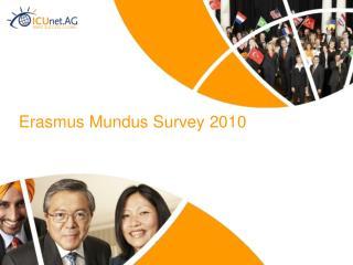 Erasmus Mundus Survey 2010