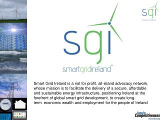 Smart Grid Ireland  is a founder member of  the  Global Smart Grid Federation