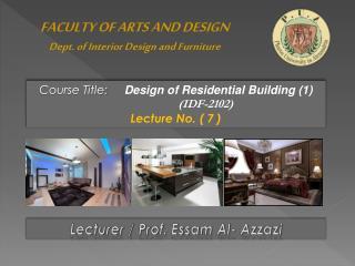 Lecturer / Prof.  Essam  Al-  Azzazi