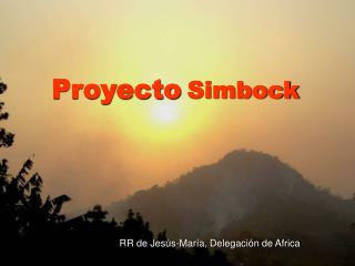 Proyecto Simbock