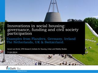 Innovations in social housing: governance, funding and civil society participation