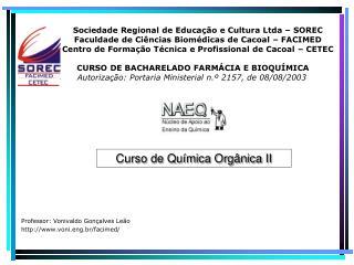 Sociedade Regional de Educação e Cultura Ltda – SOREC