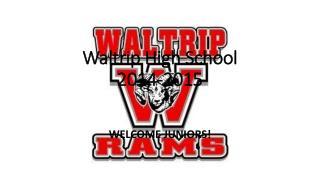 Waltrip High School  2014-2015