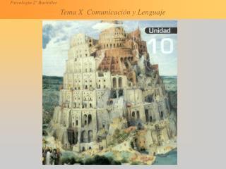 10.1 El proceso de la comunicación Información. Única dirección Comunicación. Bidireccional