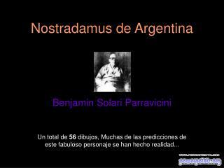 Nostradamus de Argentina