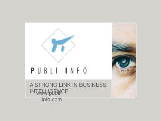 A STRONG LINK IN BUSINESS INTELLIGENCE