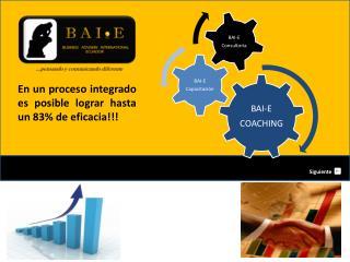 En un proceso integrado es posible lograr hasta un 83% de eficacia!!!