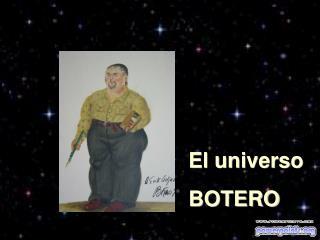 El universo BOTERO