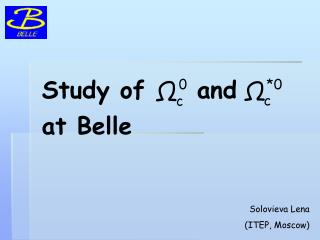 Study of     and     at Belle