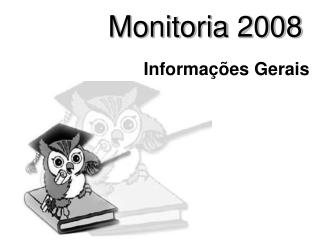 Monitoria 2008