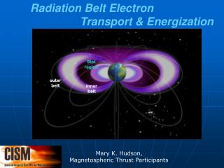 Radiation Belt Electron                  Transport & Energization